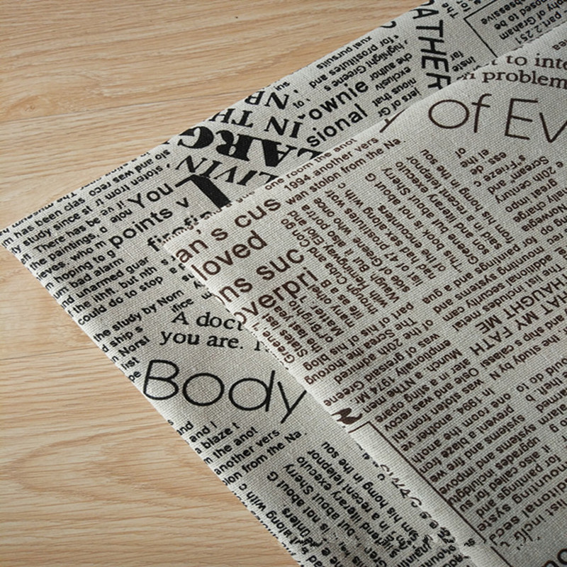 Journal imprimer tissu promotion achetez des journal imprimer tissu promotion - Tissu imprime journal ...