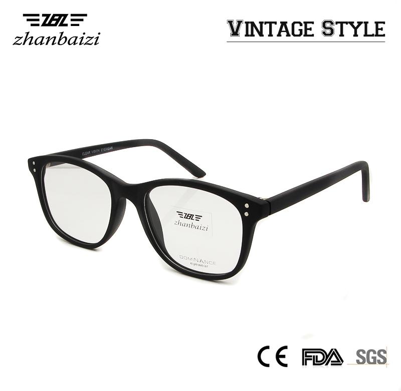 Eyeglass Frames Non Prescription : ZBZ Women Retro Round Frame Men Vintage Eyeglass Frame ...