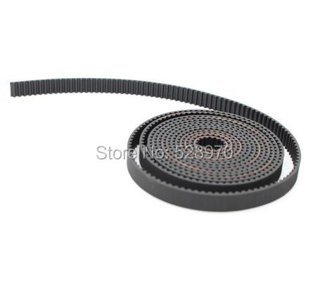 2 meter GT2-6mm open timing belt width 6mm GT2 belt 2 metre 2GT / 2meter  For 3D Printer parts 3d printer materia Free shipping