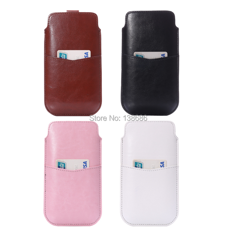 2 Cell Phone Leather Sleeve Bag Pull Tab Pouch PU Case Cover Samsung Galaxy Note N7100 Card Slot - Shenzhen LX Technology Co., Ltd. store