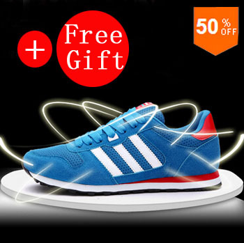 2015 New Mens Sport Shoes Sneakers Men Spring Casual Breathable Walking Running Lightweight Cool Brand Shoes Free Shipping +Gift(China (Mainland))