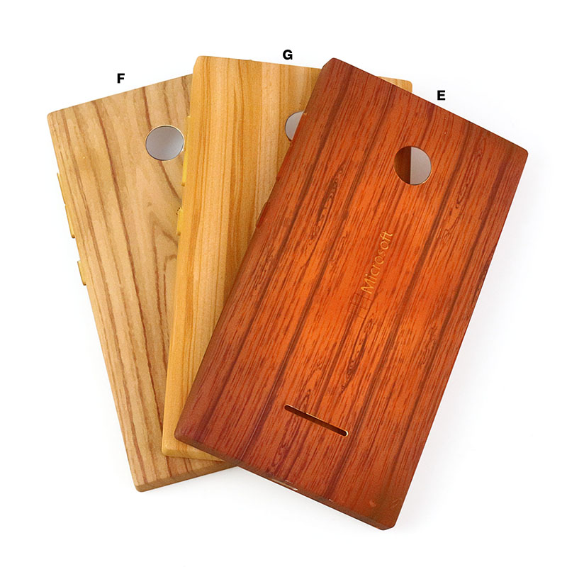 Wooden pattern Battery Back door cover case For Nokia lumia 635 532 435 730 replacement back case cover for nokia 950 950XL case(China (Mainland))