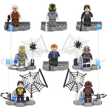 Whoelsale ANT-MAN Minifigures 80Pcs Building Blocks Super Heroes Avengers ANT MAN Brick ANT-MAN ANT MAN Mini Figures Toy