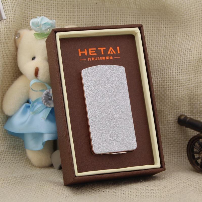 ถูก Arcเหนี่ยวนำชาร์จเบาสั่นสร้างสรรค์โลหะusbบุหรี่อิเล็กทรอนิกส์เบาขายส่งที่กำหนดเอง