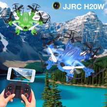 Buy JJRC H20W RC Quadcopters Drone Wifi FPV Camera HD RC Mini Drones 6 Axis Rc Dron Helicopter Remote Control Toys Nano Copter for $34.39 in AliExpress store