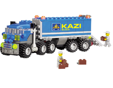 Kazi City Build Series Dumper Truck Building Block Sets 163+pcs Enlighten Educational DIY Construction Brick toys No.6409 - Online Store 131916 store