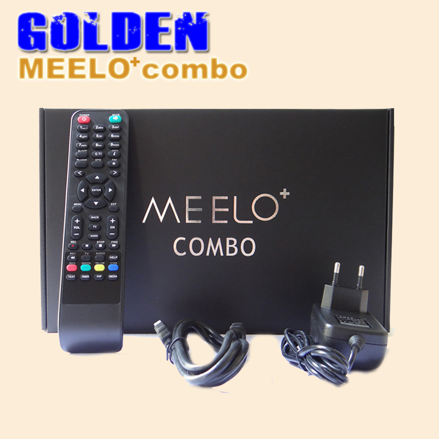 [DHL FREE] MEELO COMBO update X SOLO MINI 3 Dual DMIPS Processor HD 1080P Satellite Receiver 4GB Serial Flash DVB-S2+DVB-T2/C(China (Mainland))