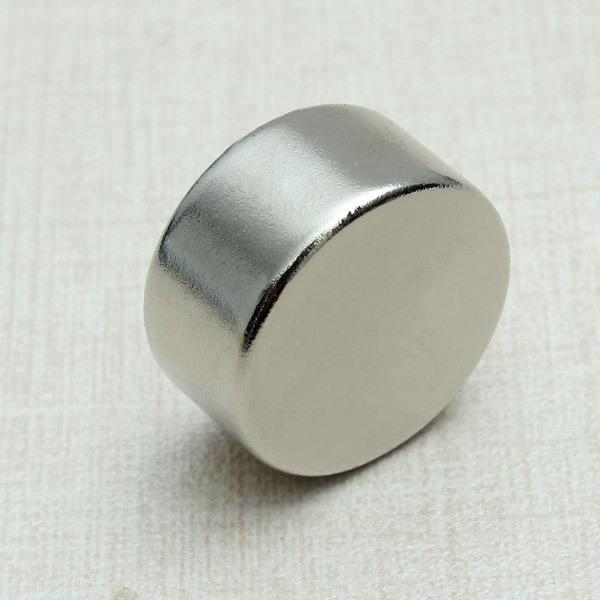 Гаджет  10 pcs/Lot _ 20mm Dia x 10mm N52 Neodymium Strongest Grade Magnet None Строительство и Недвижимость