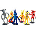 Anime figure Five Nights at Freddy s PVC Action figure Freddy Figurine Foxy 9cm Collection Model