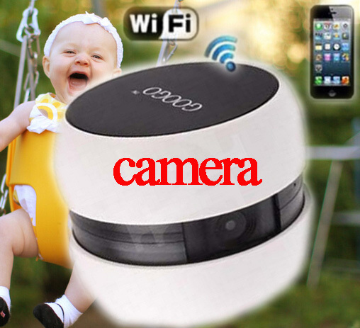 Mini Googo Wifi Camera Baby Monitor Wireless Video Monitors For IOS & Android Tablets Smart Phone in retail pack Free Shipping(China (Mainland))