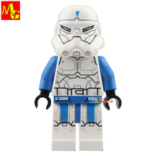 Single Sale Star wars Princess LEIA Yoda Stormtrooper Darth Vader Shadow ARF Trooper Minifigures Building Blocks Toys(China (Mainland))