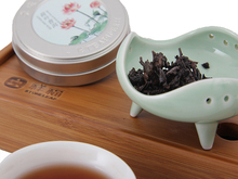pu er tea Easy Take Mini Box Compressed puer tea Chinese Naturally Healthy Food Lotus Leaf