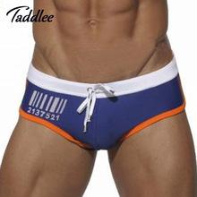 Taddlee Brand Sexy Men Swimsuits Briefs Gay Male Swimming Bikini 2016 Summer New Men's Swimwear Surf Boardshorts Swim Suits Hot