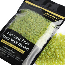 Buy 250g Green Tea Flavor Hard Wax Strip Paper Depilatory Hot Film Solid Beans Waxing Bikini Hair Removal Bean Men Women T3 for $7.36 in AliExpress store