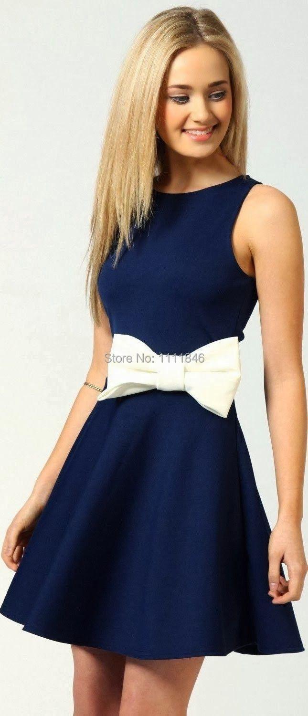 Short Navy Blue Bridesmaid Dresses Photo Album - Weddings Center