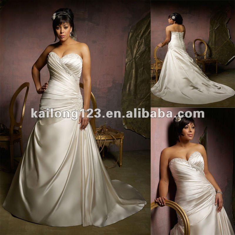 Buy elegant sweetheart asymmetrical a for Corset wedding dresses plus size
