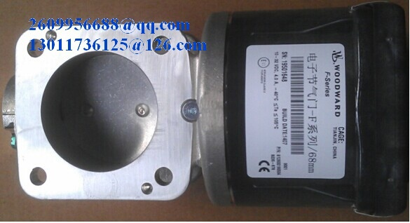 Woodward NG Electronic air throttle, Pin:812800190504, F series 68mm, for Weichai WP12NG engine for Shanqi, FAW heavy truck, bus(China (Mainland))