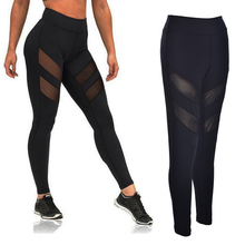 Buy 1pcs mesh legging workout Legging women workout clothes women female fitness legging clothing track pants work excise for $11.34 in AliExpress store