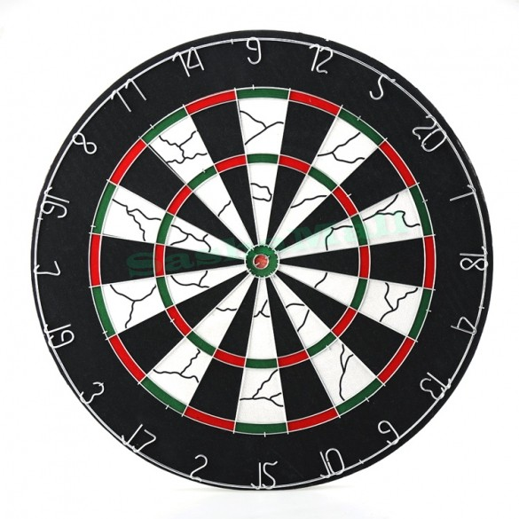 2015 New Sale Professional Thick Double Side 18-Inch Viper Shot King Bristle Flocked Dartboard With 6 Free Darts Set 25(China (Mainland))