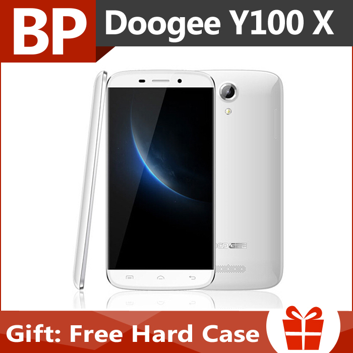 In Stock Original Doogee NOVA Y100X MTK6582 5 inch1280x720 Quad Core Android 5.0 Mobile Cell Phone 1GB RAM 8GB ROM 13MP Dual Sim(China (Mainland))