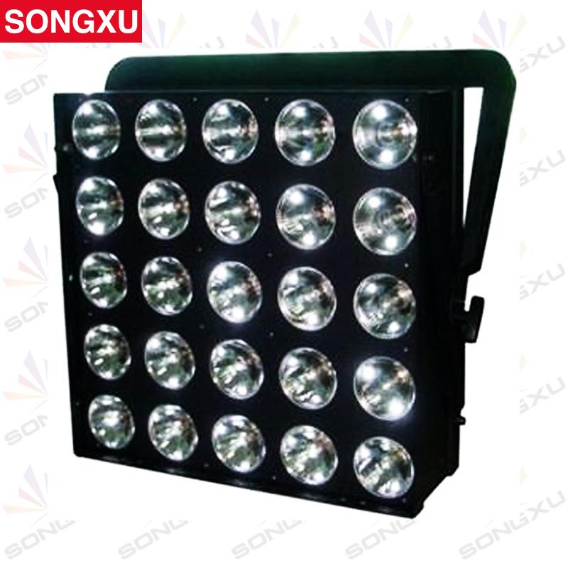 SONGXU 25*30W RGB 3in1 LED Matrix Light LED Dot Matrix Pixel Washer Light Stage Effect Light for Disco Nightclub Party/SX-WL2530(China (Mainland))