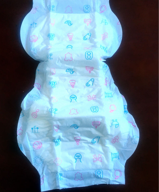 15 pads Cloth Like Outer Baby Print Adult Baby ABDL disposable incontinence pads(China (Mainland))