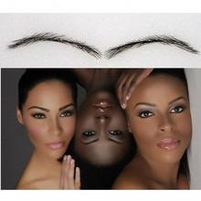 AC4 afro eyebrow enhancer , human eyebrow waterproof/ permanent eyebrow set /makeup eyebrow growth for african american women