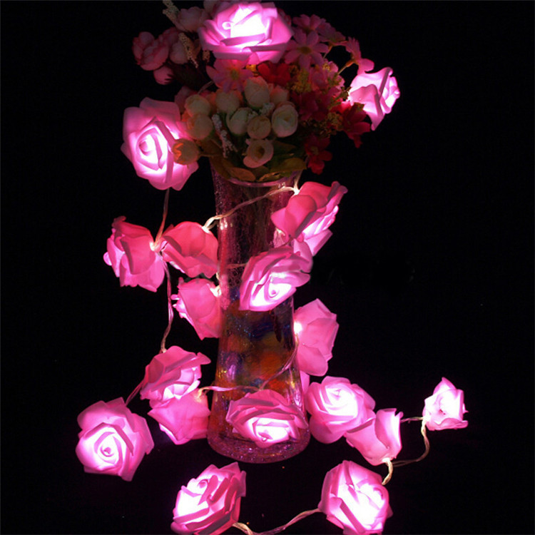 artificial flowers with led lights elegant wedding