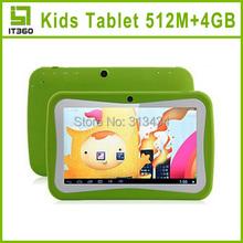 Beneve enfants Tablet PC 7 polegada RK2926 Android 4.1 512 m 4 GB 800 * 480 étude double caméra et jeux applications coloré