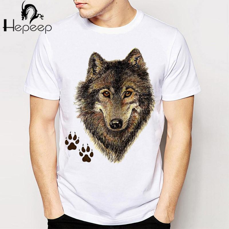 2016 new fashion summer men's t shirt Wolves Animal 3D T Shirt Harajuku short sleeve o-neck Casual boy lovely tees funny tops(China (Mainland))