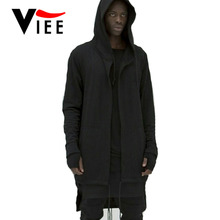 bigbang kpop clothes hip hop mens jackets coats couple outfits black/white extended long hoodie hooded cloak VC2911 - VIEE Store117888 store