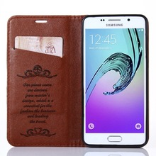 Fashion Luxury Leather Phone Flip Cases Cover For Samsung Galaxy A3 2016 A310 case Android Smartphone Mobile Phone Bag Celular(China (Mainland))