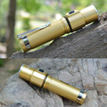 DIU CREE XPE Q5 LED 3Modes Aluminum 14500 Mini Portable Flashlight Torch Light Adjustable Brightness High