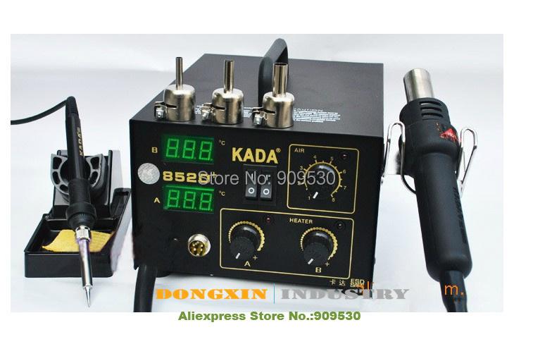 Guaranteed 100% Power Tools,Kada 852D+ 2 in 1 soldering iron,hot air plus soldering iron.electric tool(China (Mainland))