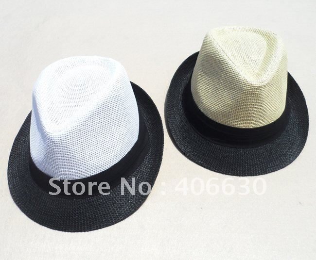 Summer Straw Hats For Men Summer Men 39 s Straw Fedora Hats