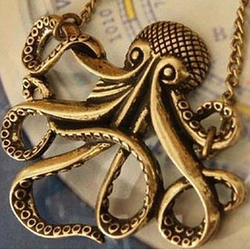 N113-Affandi-Octopus-Necklaces-Long-Chain-Sweater-Neclakce-Bijoux-Collares-For-Women-Ocean-Beach-Jewelry-Fashion