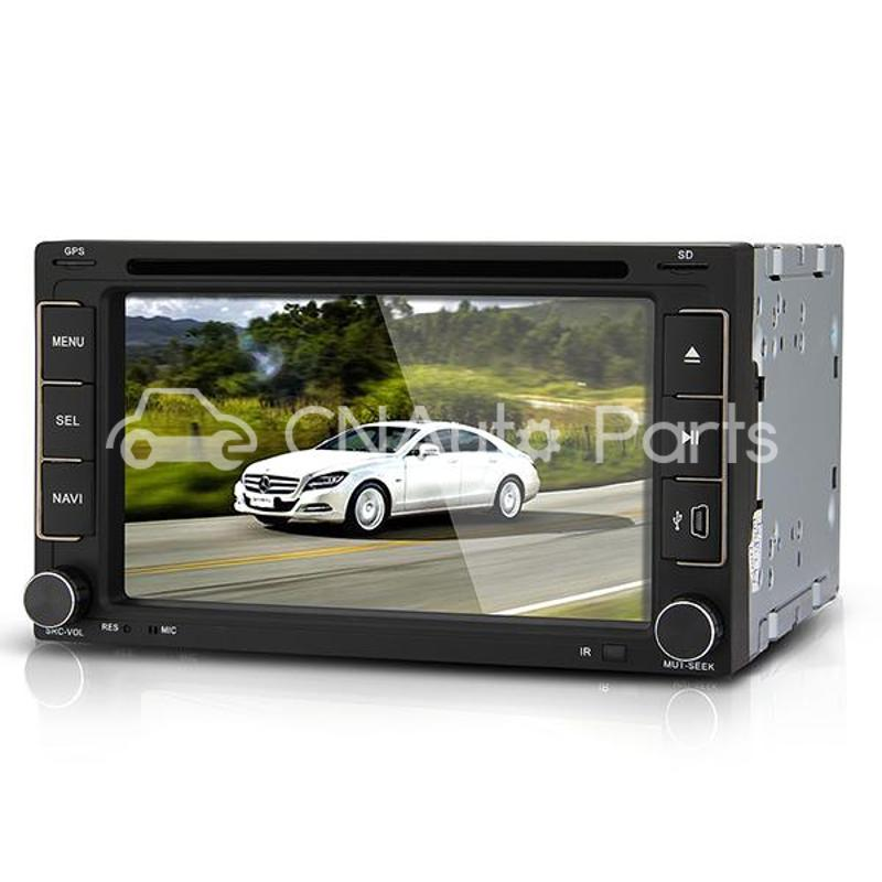 "6.2"" Car DVD Player Stereo In-Dash 2 DIN GPS SD America Map for iPod for iPhone(China (Mainland))"