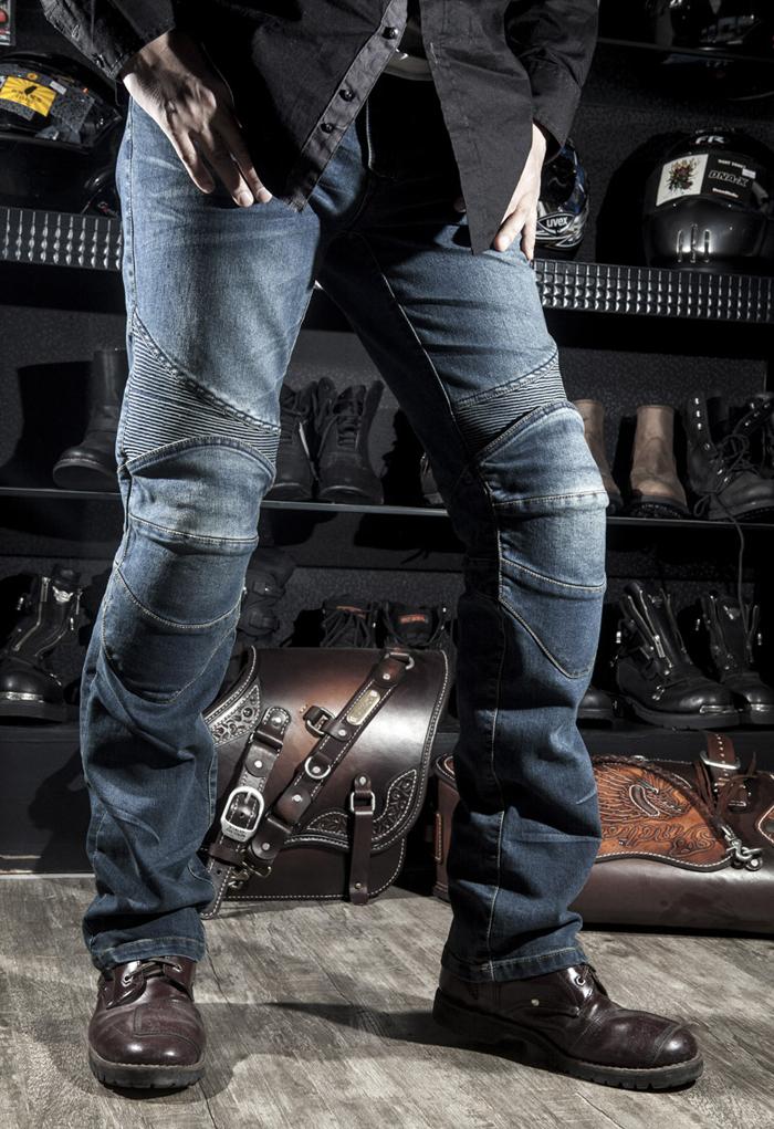 Оригинальные джинсы - дорога брюки / мото гонки брюки / рыцарский джинсы мотоодежда есть защита к-3