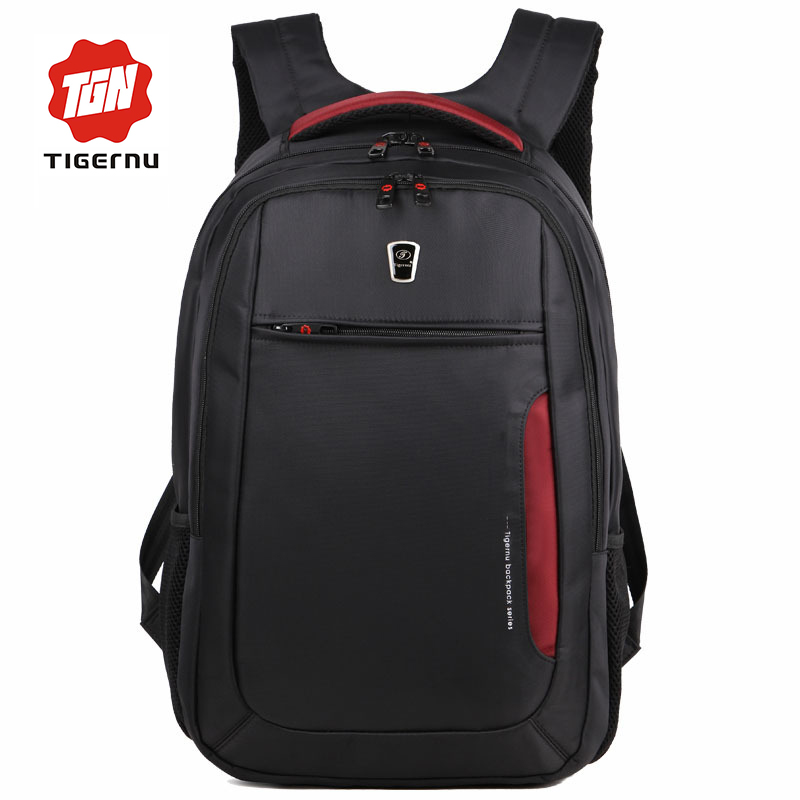 17 Inch School Laptop Backpacks Men Women School Bags for Teenagers Tigernu Hot Selling Sports Bag Backpack(China (Mainland))