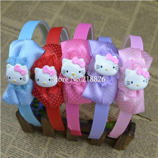 Cute Princess headwear hair accessories cat hairband children kids party gift