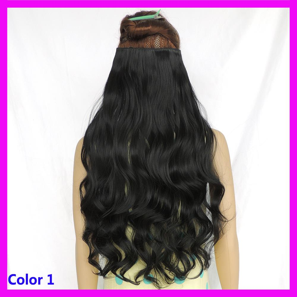 Hair Extensions For Women : ... hair-extensions-hairpiece-5-clip-in-hair-piece-women-secret-extension