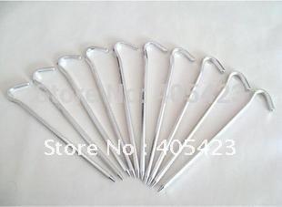 Tent nail peg stake accessory,50pcs/lot,length:18cm<br><br>Aliexpress