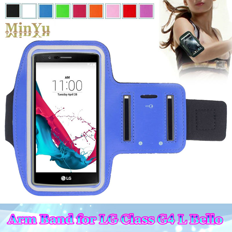 Waterproof Sports Arm Band Leather Case for LG G5 V10 K10 G4 /G3 G2 /G Flex 2 /G Stylo Deportivo Sport Running Accessories(China (Mainland))