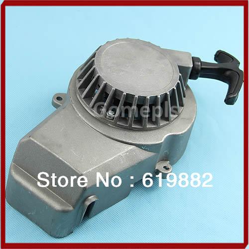 W110Drop Shipping New Aluminium Pull Starter Start Mini Pocket Bikes ATVs Quad 49cc Mower Engines(China (Mainland))
