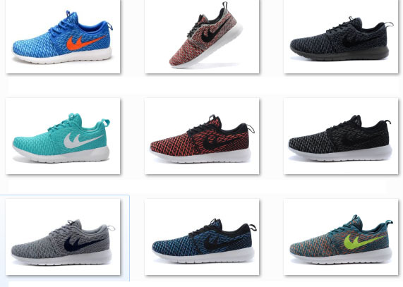 2015 Hot sale top brand roshelies run athletic shoes flyknits men running shoes cheap on sale size 40-45 buy now(China (Mainland))