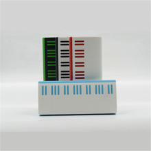 innovative Piano shaped 5 led lightings 12000mah promotional power bank for Iphone for Samsung Table PC All Mobile Phone