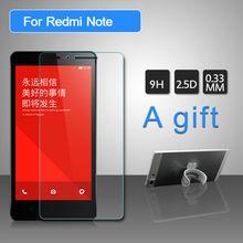 Tempered Glass Screen Protector Cover Xiaomi Redmi Note 4G 9H 2.5D 0.33mm Anti Shock Protective Film - Shenzhen NanoShield Technology store