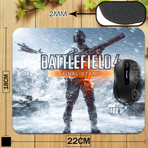 Battlefield 4 Final Stand Poster Mouse Pad for Gamer Gaming Necessary Mouse Mat For PC Computer Laptop(China (Mainland))