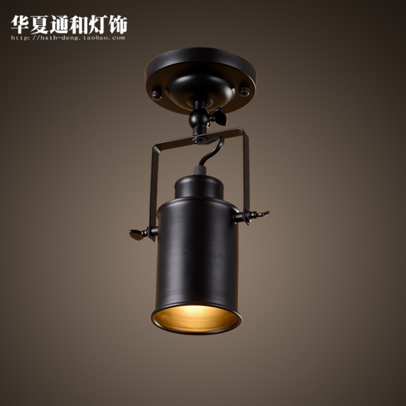 American style light industrial creative living room bar clothing store personalized LED ceiling light<br><br>Aliexpress