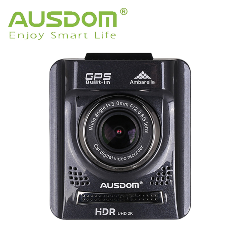 2015 New Arrival AUSDOM A261 2.0'' Full HD Car DVR GPS+G-sensor+HDMI+130 viewing angle + Night Vision digital video Camera(China (Mainland))